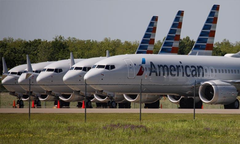 Le 737 MAX est impliqué dans deux catastrophes aériennes qui ont fait 346 morts en l'espace de quelques mois, et il est interdit de vol.  Ph : DR