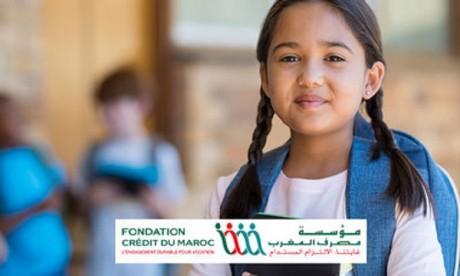 La Fondation Crédit du Maroc et SOS Villages d'Enfants partenaires