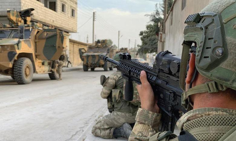 La Turquie entend mettre en place une «zone de sécurité» d'une trentaine de kilomètres de profondeur. Ph. Reuters