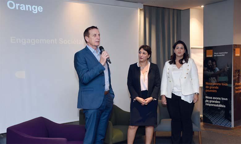 «En tant qu'acteur majeur du monde digital au Maroc, nous avons à cœur d'accompagner notre clientèle dans les changements induits par les évolutions du numérique», a déclaré Yves Gauthier, DG d'Orange Maroc, le 22 octobre à Casablanca. Ph. Saouri