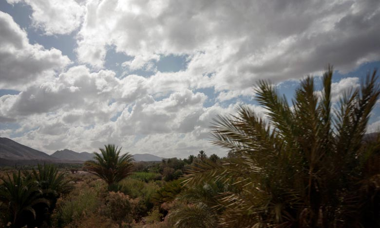 La DMN prévoit pour la journée de ce mercredi, un temps assez chaud à chaud sur le Souss, le sud-est et l'intérieur des provinces du Sud. Ph : DR