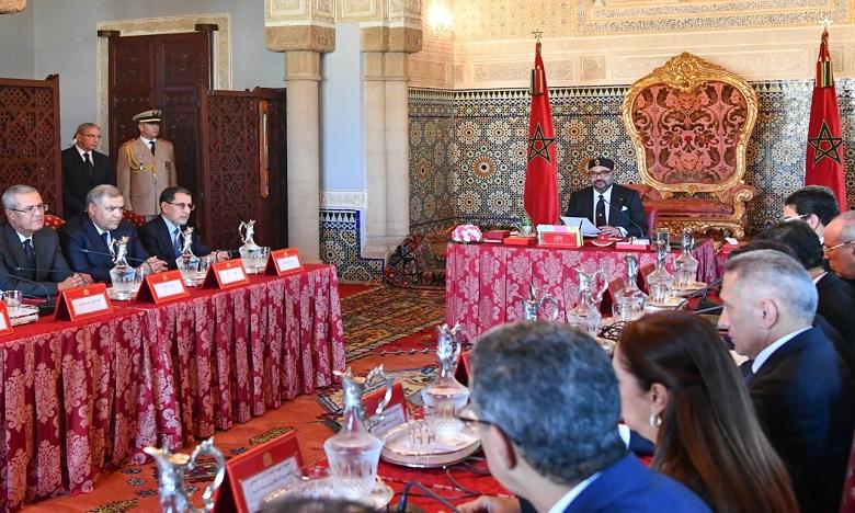 Sa Majesté le Roi préside un Conseil des ministres consacré à la présentation des orientations générales du projet de loi de Finances au titre de l'année 2020