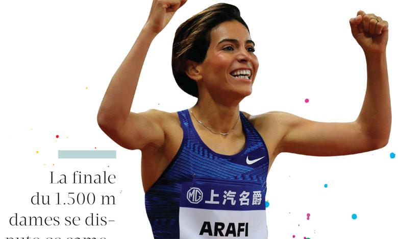 Rababe Arafi : «J'espère que la finale du 1.500 m sera lente»