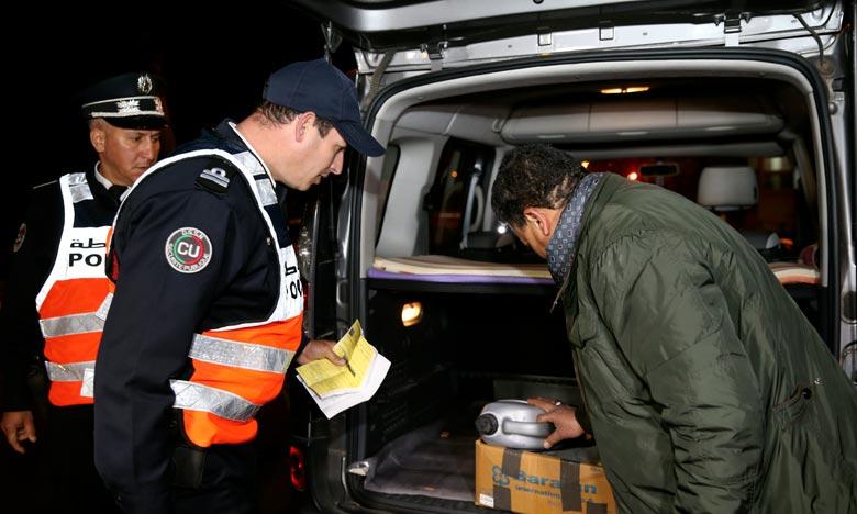 Le contrôle et la répression des infractions figurent parmi les missions les plus importantes de la police de la circulation en vue de réduire les accidents. Ph : MAP