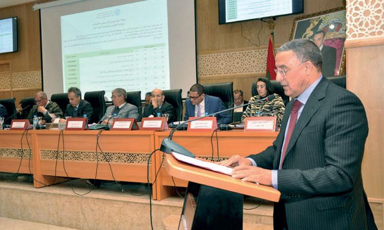 Le Conseil régional tient sa session ordinaire au titre du mois d'octobre