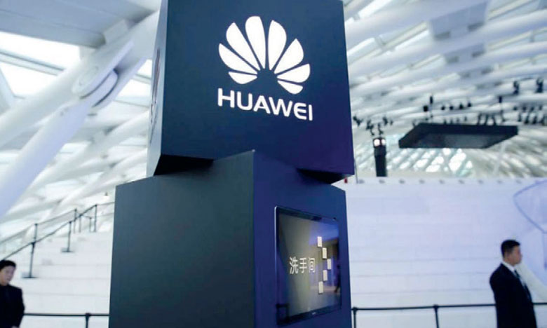 Huawei enregistre une progression de son CA