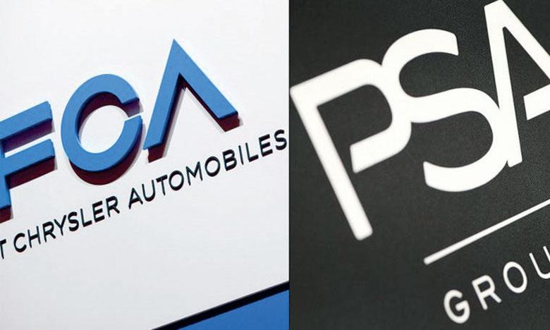 Projet de fusion FCA-PSA, un géant  de 50 milliards de dollars
