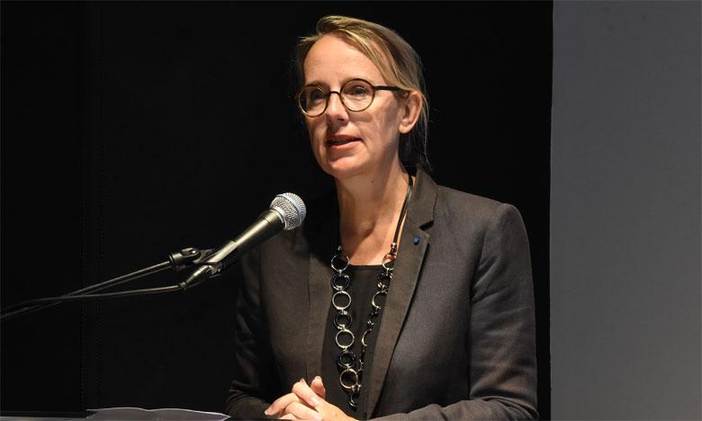 Son Excellence Hélène Le Gal, ambassadrice de France au Maroc. Ph. Saouri