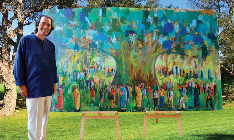 Naïm Chemaou : «La peinture est une passion  que je partage avec tout le monde»