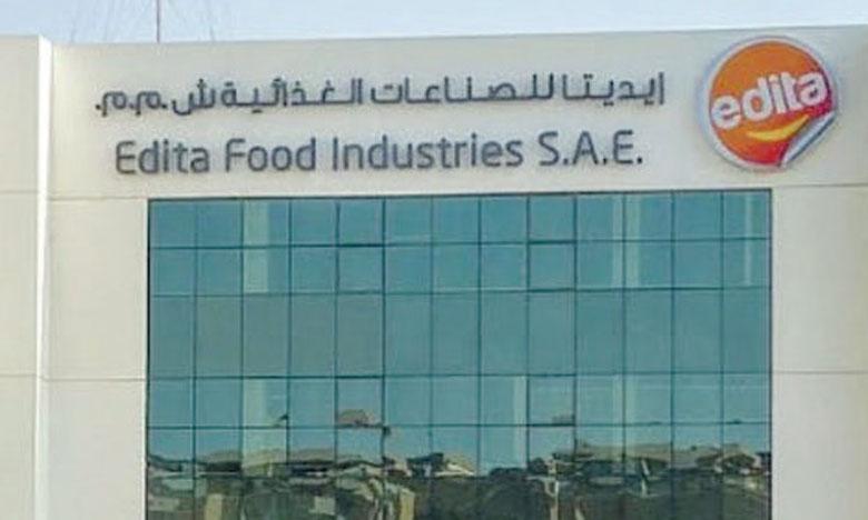 La convention d'investissement  d'Edita Food Industries Morocco signée