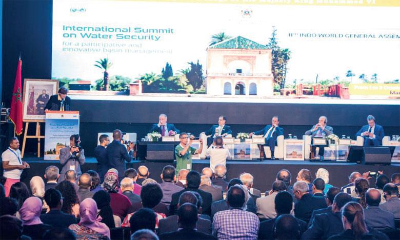 Parallèlement au Sommet international de Marrakech sur la sécurité hydrique, le Réseau international des organismes de bassins tient sa 11e assemblée générale à Marrakech. Ph. DR