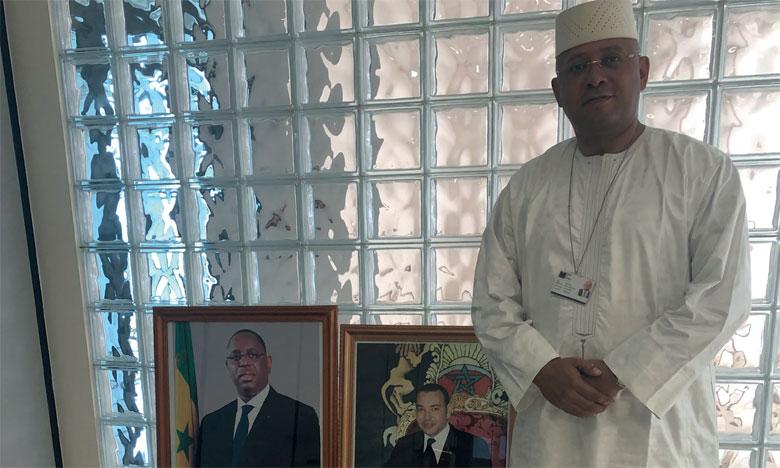 «L'avenir exige que le Maroc poursuive la voie édictée par S.M. le Roi et les gisements de croissance pour le Royaume  sont au sud du Sahara»