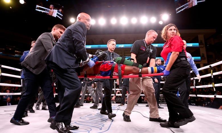 Le boxeur américain Patrick Day décédé