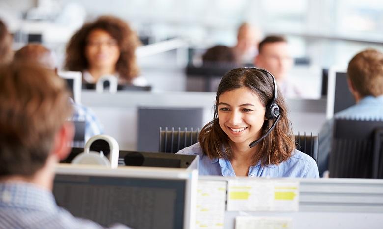 72% des salariés qui travaillent en centres d'appel avancent qu'ils souffrent de stress. Ph: shutterstock.