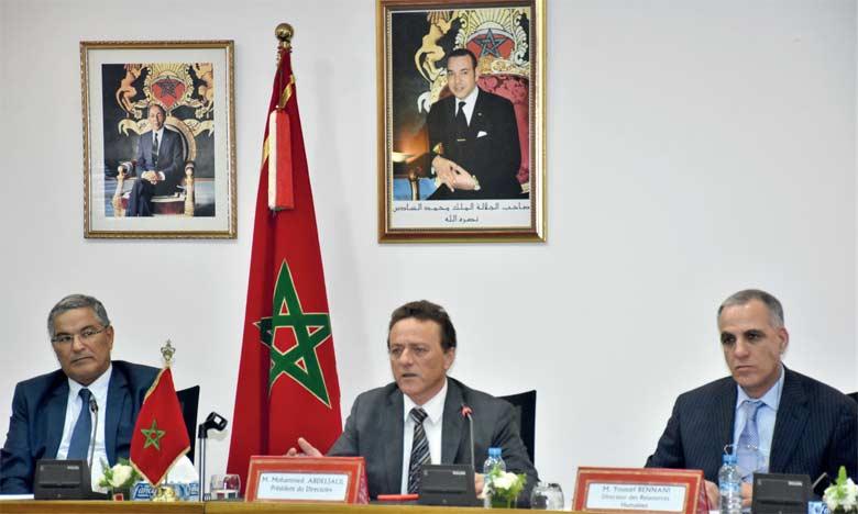Selon le management de Marsa Maroc, les équipements du TC3 de Tanger Med II sont en construction en Europe pour une livraison prévue en décembre prochain.  Ph. Seddik