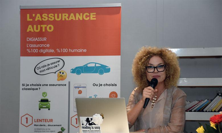 Selon la fondatrice de Assur'Wi, DigiAssur répond à un constat, celui de la faible pénétration de l'assurance au Maroc, dont le taux est à peine aux alentours de 3%. Ph. Seddik