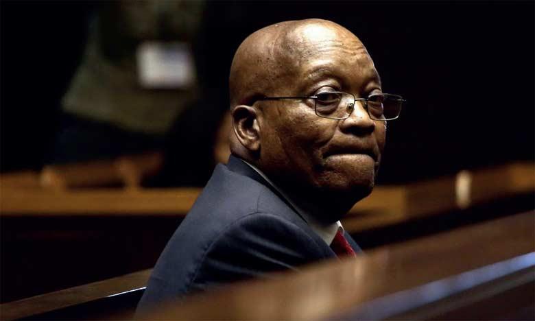 L'ancien président sud-africain Jacob Zuma sera jugé pour corruption dans une affaire d'armement.                  Ph. AFP