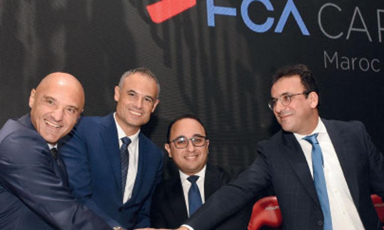 Partenariat stratégique FCA-Wafasalaf