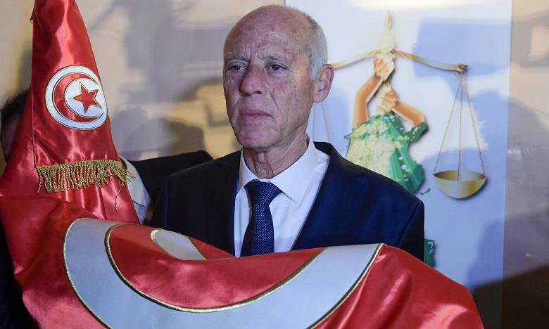 El Malki et Benchamach à Tunis pour représenter S.M. le Roi à la cérémonie d'investiture de Kaïs Saïed