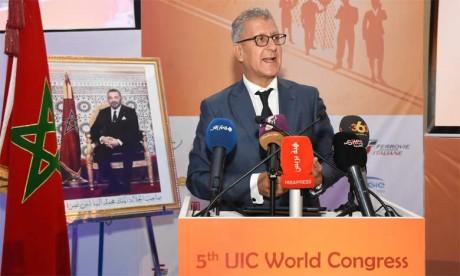Ouverture à Rabat du cinquième Congrès mondial  sur la formation ferroviaire