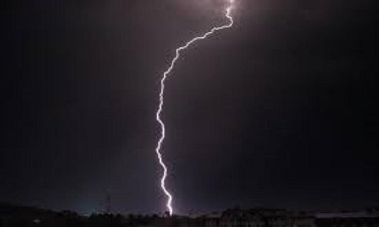 Bulletin spécial:  Averses orageuses localement fortes jusqu'à mardi soir