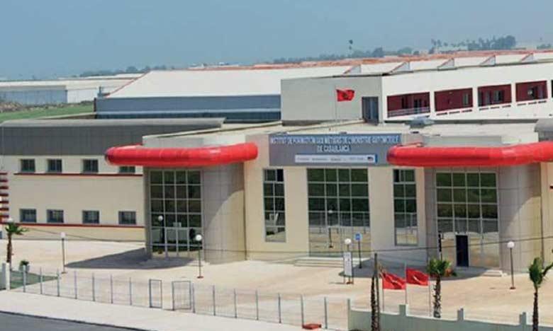 L'Institut de formation aux métiers de l'industrie automobile de Casablanca.
