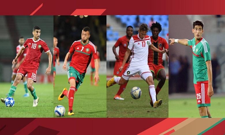 Sélection nationale A : Quatre nouveaux joueurs appelés en renfort