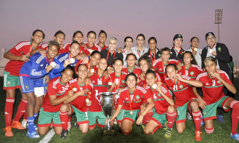 L'équipe nationale domine la Tunisie et remporte le titre