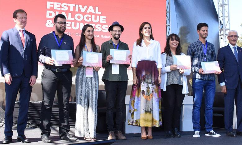 Ouverture à Rabat du Festival Dialogue & Jeunesse en présence de S.A.R. la Princesse Mary de Danemark