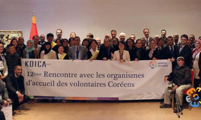 Des volontaires coréens mobilisés pour les populations démunies