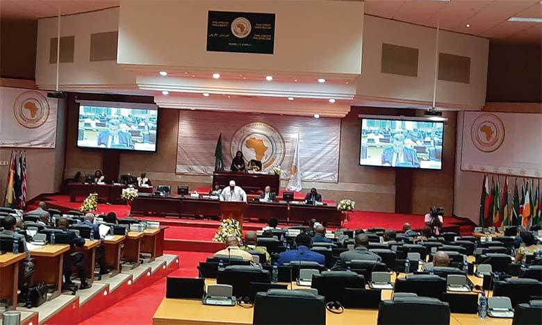 La délégation des députés marocains déjoue  les actions des représentants du polisario