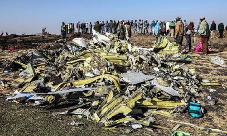 Le 10 mars dernier, l'avion de la compagnie éthiopienne un Boeing 737 MAX, qui devait assurer la liaison entre Addis-Abeba et Nairobi au Kenya, s'est écrasé six minutes après son décollage, faisant 157 victimes de différentes nationalités. Ph: DR