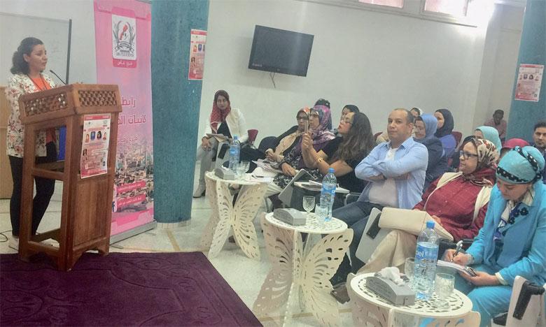 Création d'une section de la Ligue  des écrivaines du Maroc
