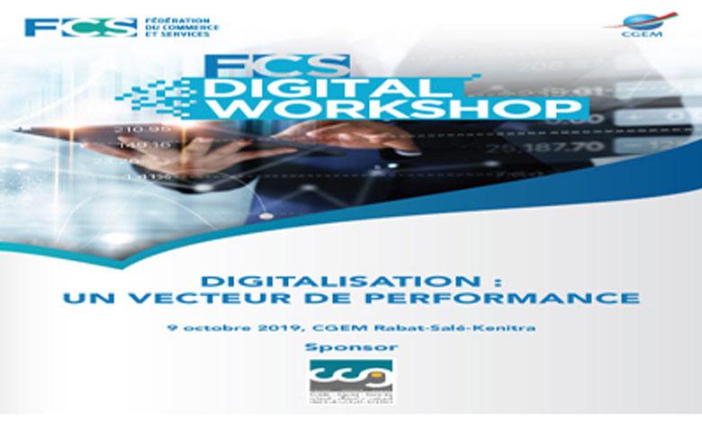 CGEM: La Fédération du Commerce et Services lance le FCS Digital Workshop