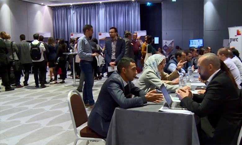 Un focus a été mis cette année sur les nouvelles technologies, un secteur à forte demande au Maroc en termes de compétences. Ph. MAP/Archives
