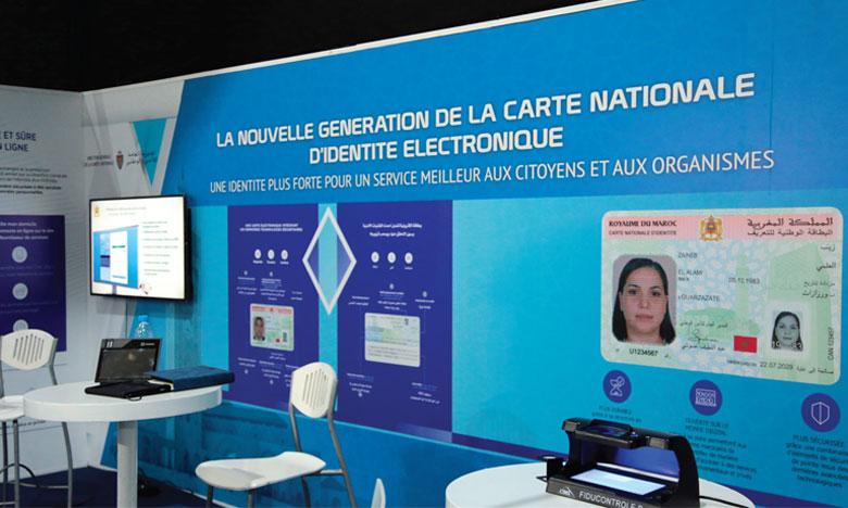 Lancement de la nouvelle génération de la carte nationale d'identité électronique par la DGSN.