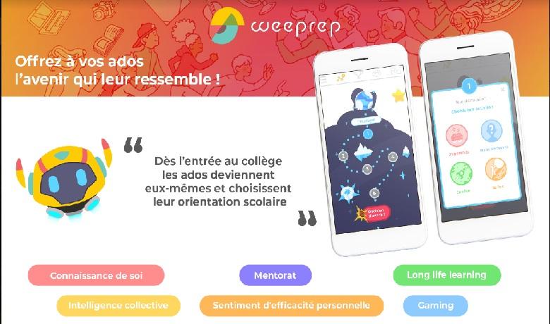 Orientation scolaire: Weeprep dévoile la nouvelle application des collégiens