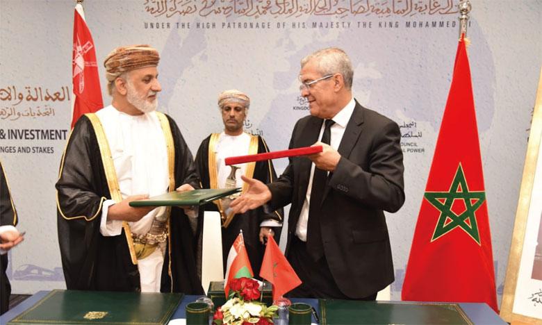 Les acteurs du système judiciaire et de la justice signent de nombreuses conventions bilatérales