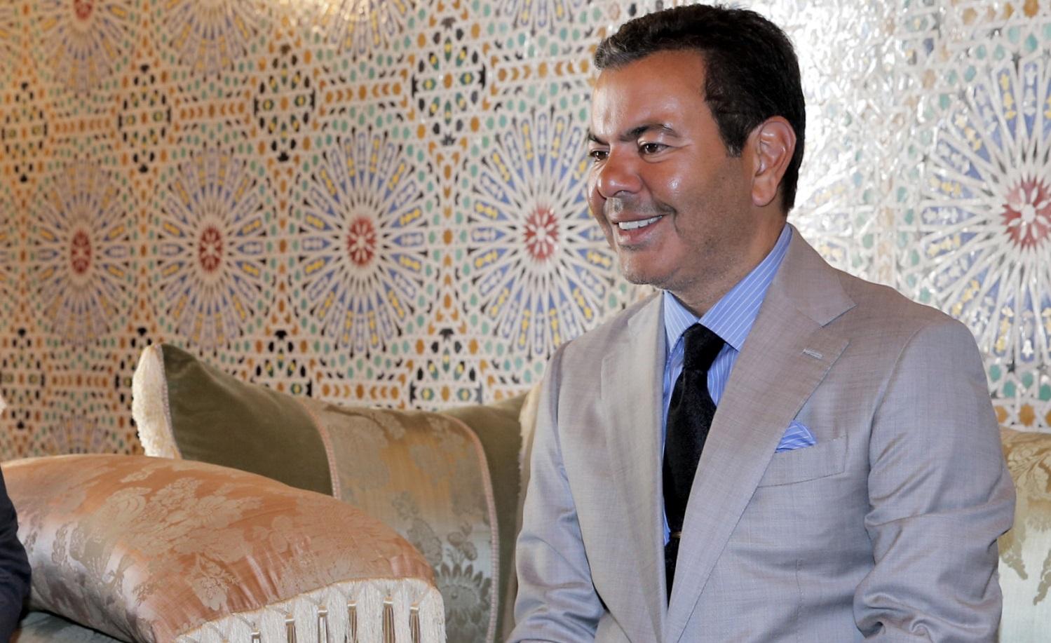 S.A.R. le Prince Moulay Rachid prend part à Tokyo à une réception de thé offerte par l'Empereur du Japon à l'occasion de son intronisation