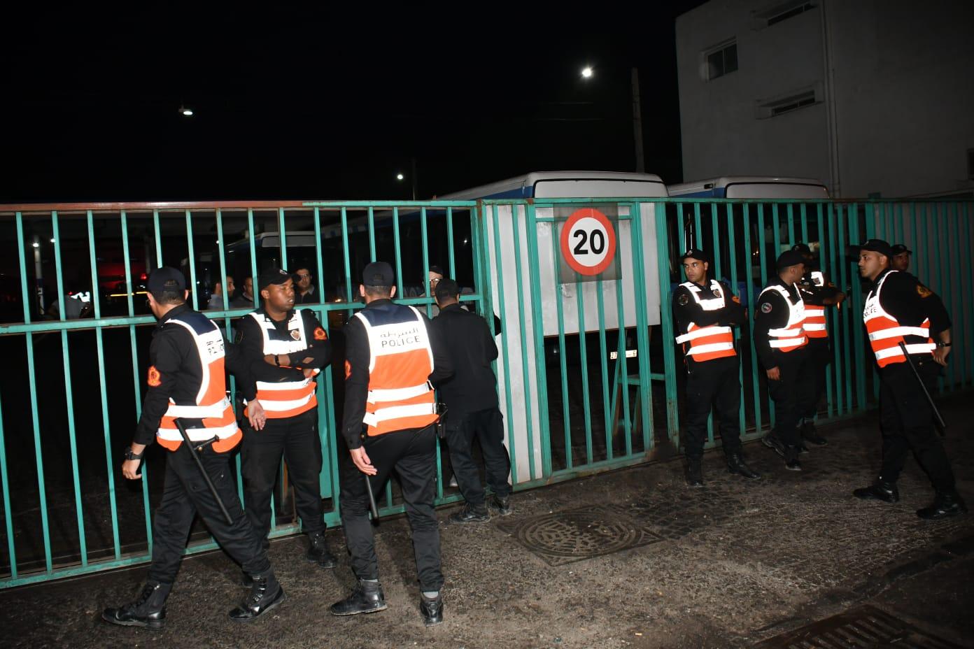 Casablanca : L'entrepôt de M'dina bus prend feu