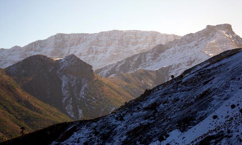 La DMN prévoit pour ce jeudi des chutes de neige à partir de 1.800m sur les reliefs du Haut et Moyen Atlas. Ph : DR