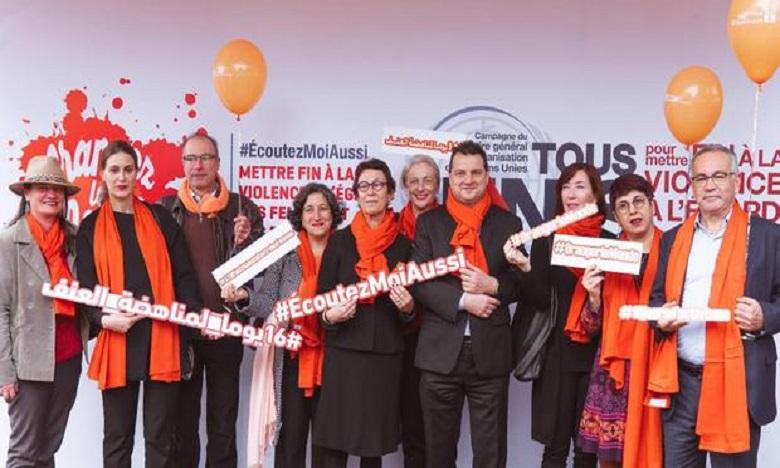 Ouvert au grand public, La campagne mondiale de dénonciation des violences faites aux femmes a été, officiellement, lancée  depuis Marrakech.