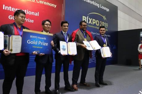 L'UM6P offre au Maroc une médaille d'or au BIXPO 2019