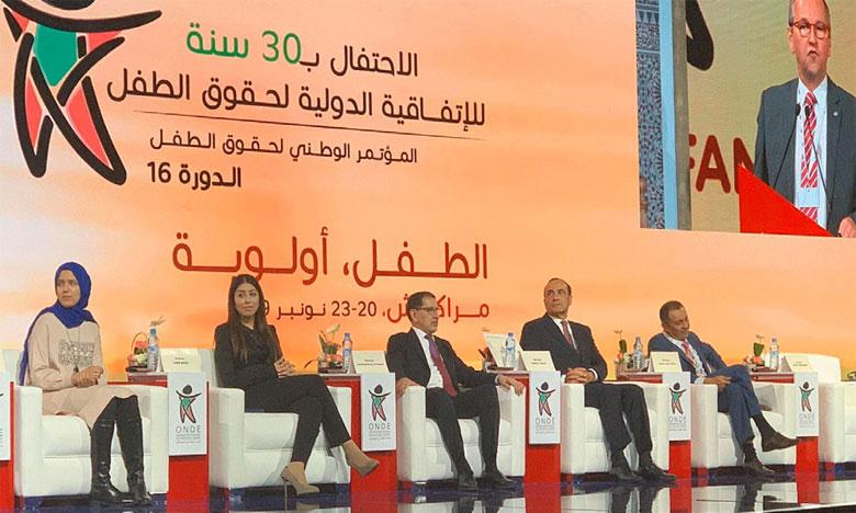 L'engagement fort du Maroc en faveur de la promotion de la situation  de l'enfance mis en avant à Marrakech