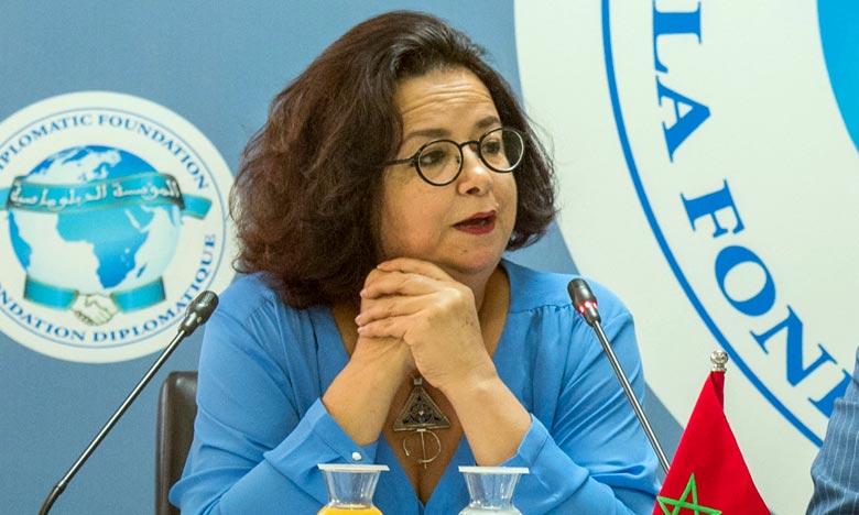 Latifa Akharbach a réitéré l'engagement dynamique de la Haca dans dans la promotion des relations inter-réseaux des régulateurs. Ph : MAP