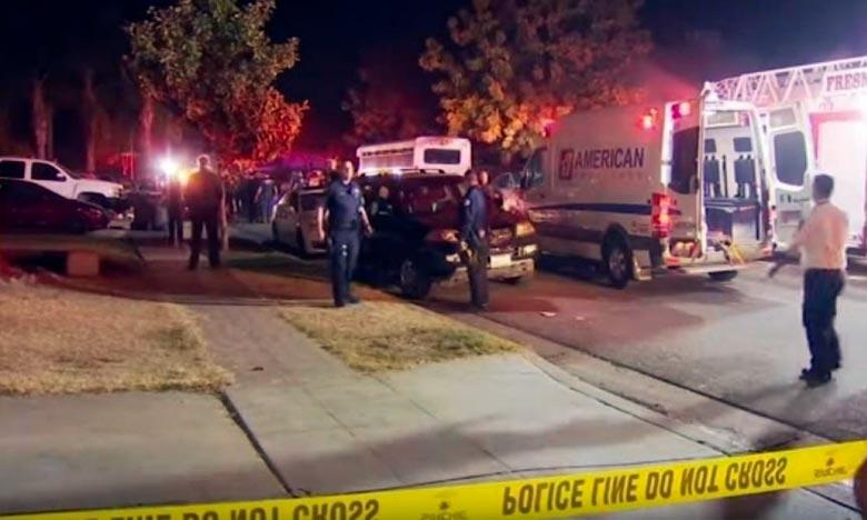 Les tireurs sont en fuite et les policiers tentaient de retrouver leur trace en examinant les images de surveillance et en interrogeant les nombreux voisins qui ont donné l'alerte en entendant les coups de feu. Ph : DR