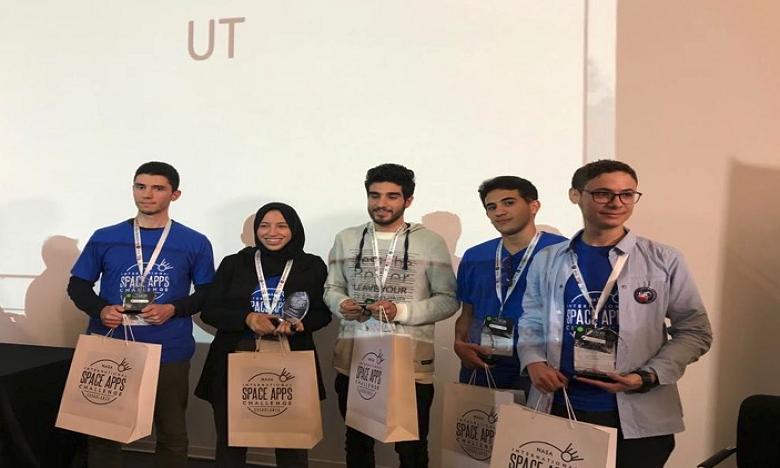 SUPINFO Maroc remporte le hackathon de la NASA