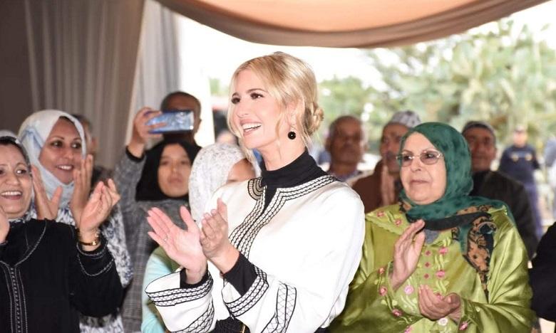 Exclusif : La visite d'Ivanka Trump dans le Gharb en images