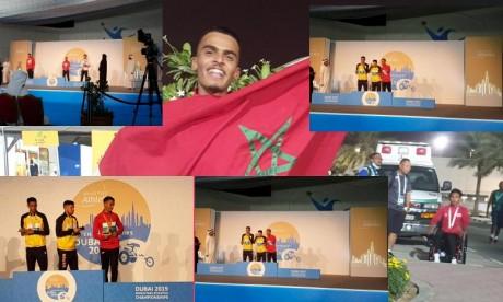 Mondiaux de Para-athlétisme: 3 médailles pour la sélection marocaine