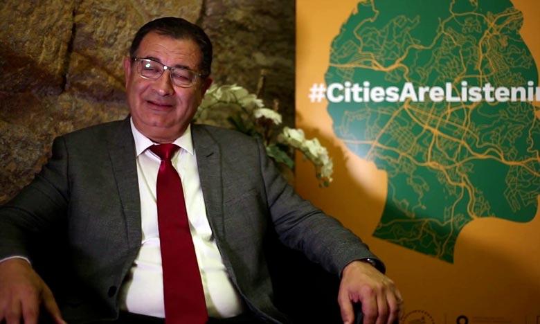 Le maire de la ville d'Al Hoceima, Mohamed Boudra, est le représentant de l'Afrique pour la présidence de l'organisation mondiale des Cités et Gouvernements Locaux Unis. Ph : DR